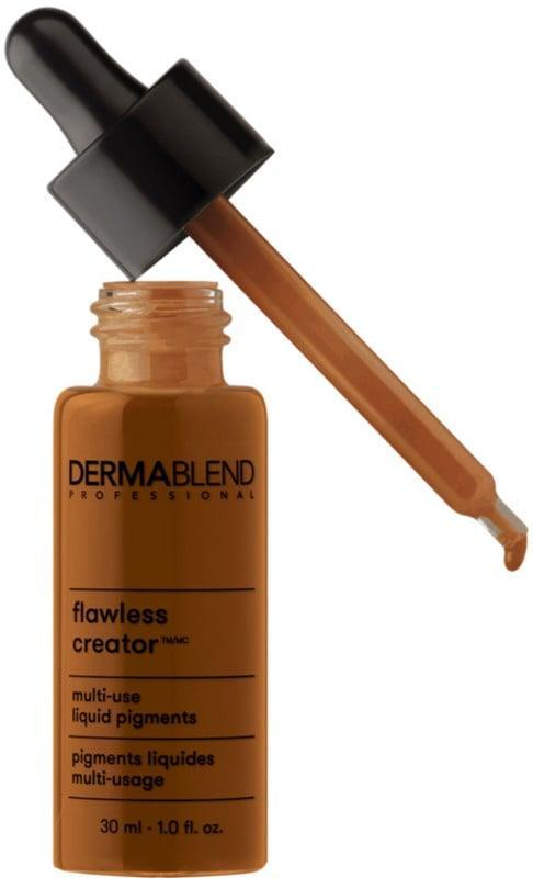 <p>If you're looking for coverage, the <span>Dermablend Flawless Creator Liquid Foundation Drops</span> ($40) are a must. They're lightweight, noncomedogenic, great for sensitive skin, yet very pigmented. You can use the product on its own or add a few drops to your go-to moisturizer or SPF and create your own tinted moisturizer.</p>