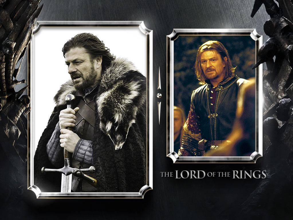 "<a href=""/sean-bean/contributor/29713"">Sean Bean</a> — Current Role: Eddard ""Ned"" Stark, Lord of Winterfell // Prior Geek Roles: Bean may not be the king on this show, but he's already geek royalty, having played the doomed Boromir in ""<a href=""http://movies.yahoo.com/movie/1807537463/info"" rel=""nofollow"">The Lord of the Rings</a>"" trilogy, a Bond villain in ""<a href=""http://movies.yahoo.com/movie/1800249529/info"" rel=""nofollow"">Goldeneye</a>,"" and Zeus himself in ""<a href=""http://movies.yahoo.com/movie/1810078228/info"" rel=""nofollow"">Percy Jackson & the Olympians</a>."" <a href=""http://www.televisionwithoutpity.com/show/game_of_thrones/game_of_thrones_the_casts_geek.php?__source=tw