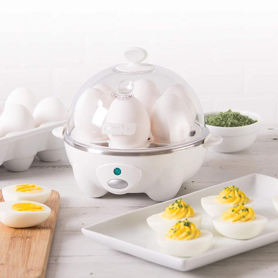 """<br><br><strong>Dash</strong> Rapid Egg Cooker, $, available at <a href=""""https://www.amazon.com/Dash-Rapid-Egg-Cooker-Scrambled/dp/B00DDXYC6O/ref=sr_1_36"""" rel=""""nofollow noopener"""" target=""""_blank"""" data-ylk=""""slk:Amazon"""" class=""""link rapid-noclick-resp"""">Amazon</a>"""