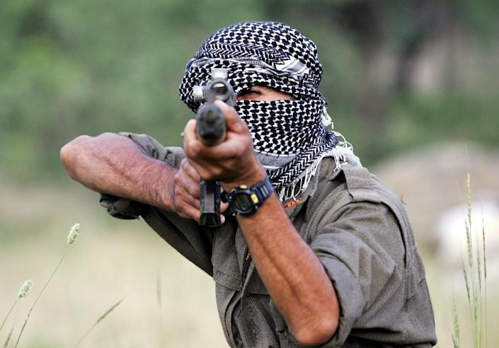 About 45,000 people have been killed since the Kurdistan Workers' Party (PKK) launched an armed campaign for greater autonomy in southeastern Turkey in 1984 (AFP Photo/Mustafa Ozer)