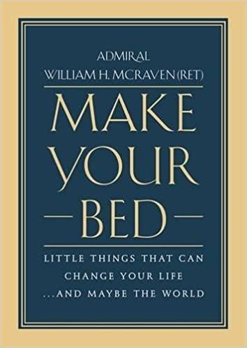 <p>I was shown this commencement speech by Admiral William H. McRaven, and have been making my bed every morning since. This <span>Make Your Bed: Little Things That Can Change Your Life...And Maybe the World</span> ($12) is a really impactful gift.</p>