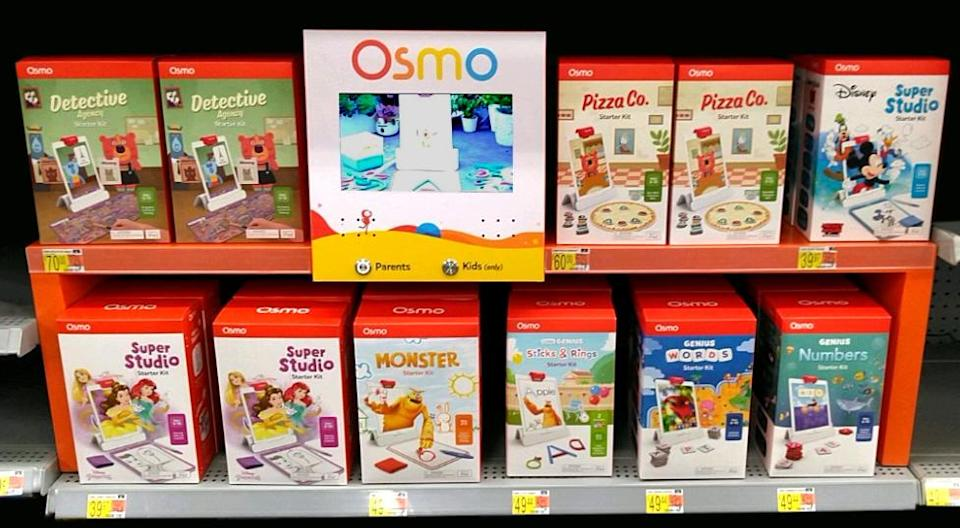 STEAM brand Osmo offers 8 exclusive starter kits for iPad at Walmart stores nationwide and Walmart.com.