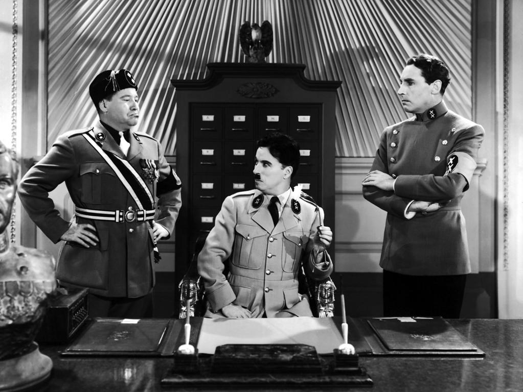 "<b>1940</b> – Charlie Chaplin's first talkie, ""<a href=""http://movies.yahoo.com/movie/the-great-dictator/"">The Great Dictator</a>,"" premiered on this day in New York City, a full year before America entered the fighting in World War II. Chaplin's most commercial film earned him the first competitive Academy Award nominations of his long and storied career."