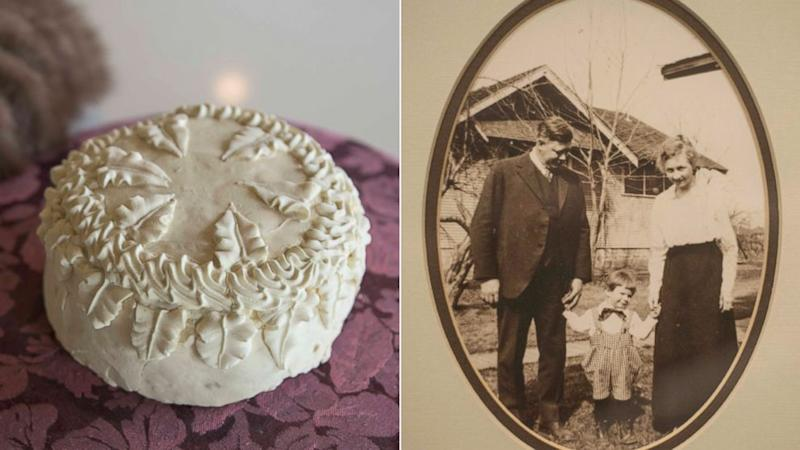 Man Finds Grandparents' 100-Year-Old Wedding Cake Inside a Hatbox in Garage