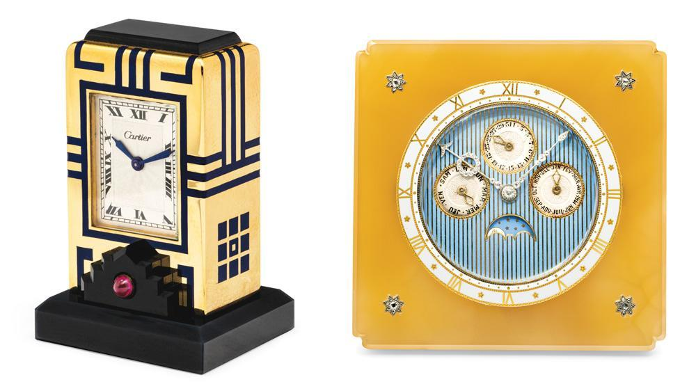 This Cartier Clock Collection Almost Made a Christie's Auctioneer Faint. It'll Go Up for Sale This Summer.