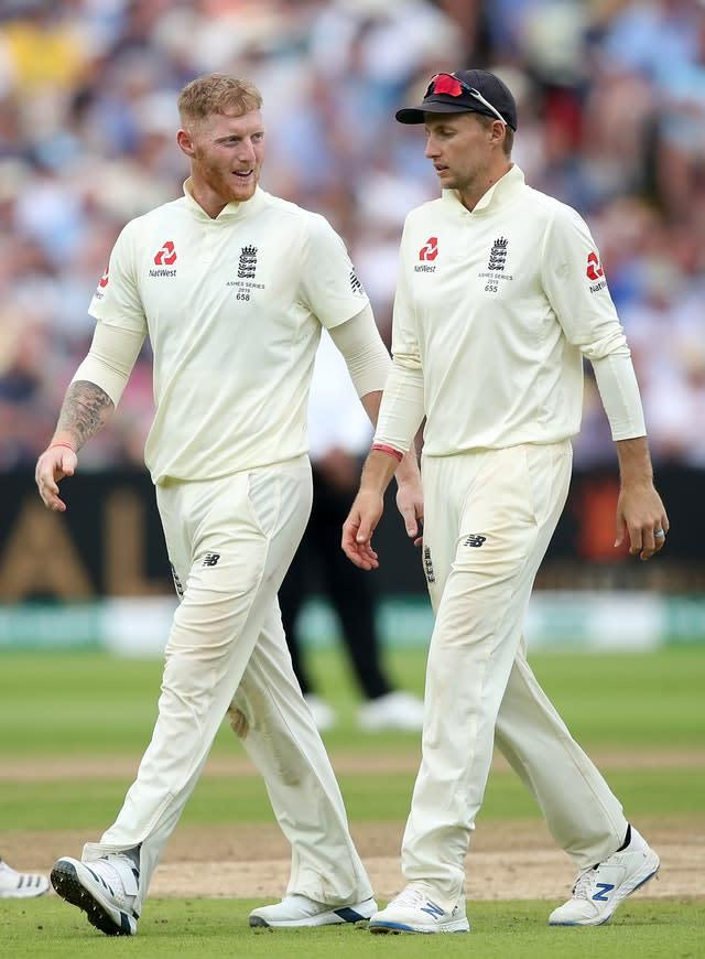 Joe Root, right, was full of praise for Stokes (Nick Potts/PA)