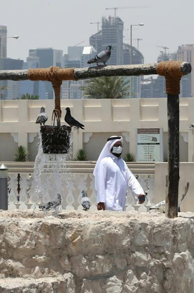 Saudi Arabia along with Bahrain, the United Arab Emirates and Egypt have cut all ties with Qatar, alleging Doha is too close to Iran and supports radical Islamist movements, claims that Qatar denies (AFP Photo/KARIM JAAFAR)