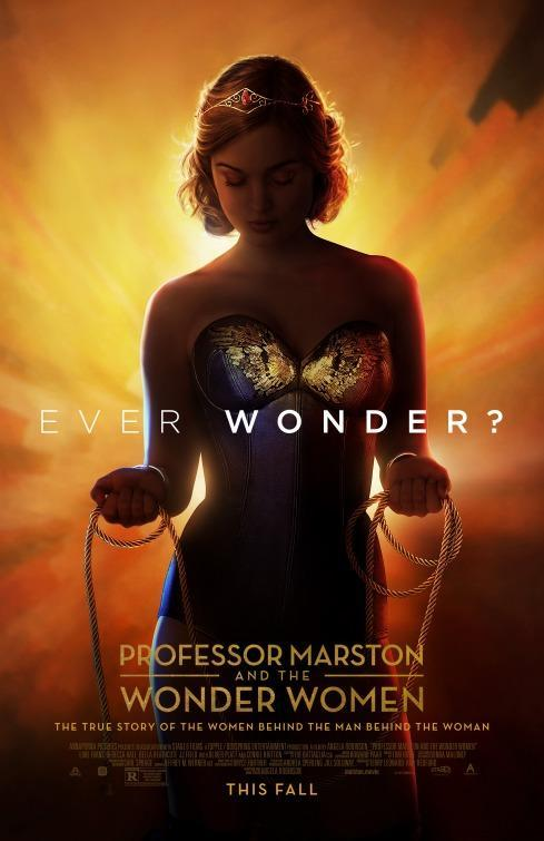 "<p>The ""almost, but not quite"" Wonder Woman lookalike adorning the poster for Angela Robinson's behind-the-comic biopic definitely makes you wonder about the man (and women) responsible for creating the Amazon we know and love. </p>"