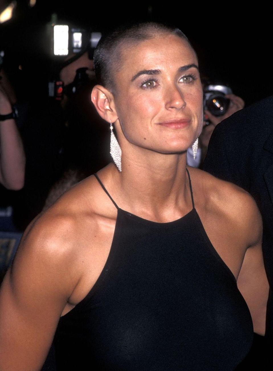 <p>Demi Moore's 1997 G.I. Jane shave is one of the most iconic. </p>