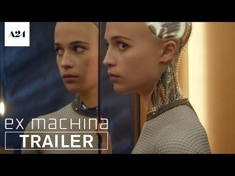 """<p>Alicia Vikander plays a robot who slowly betrays her sentience. Domhnall Gleeson stars as the programmer who must participate in a Turing test to determine the robot's capabilities. It gets a little Westworld-y.</p><p><a class=""""link rapid-noclick-resp"""" href=""""https://www.amazon.com/gp/video/detail/amzn1.dv.gti.c4a9f77d-d95a-82f6-f6cb-07184fc10937?autoplay=1&ref_=atv_cf_strg_wb&tag=syn-yahoo-20&ascsubtag=%5Bartid%7C10058.g.35566605%5Bsrc%7Cyahoo-us"""" rel=""""nofollow noopener"""" target=""""_blank"""" data-ylk=""""slk:watch on amazon prime"""">watch on amazon prime</a></p><p><a href=""""https://www.youtube.com/watch?v=bggUmgeMCdc"""" rel=""""nofollow noopener"""" target=""""_blank"""" data-ylk=""""slk:See the original post on Youtube"""" class=""""link rapid-noclick-resp"""">See the original post on Youtube</a></p>"""