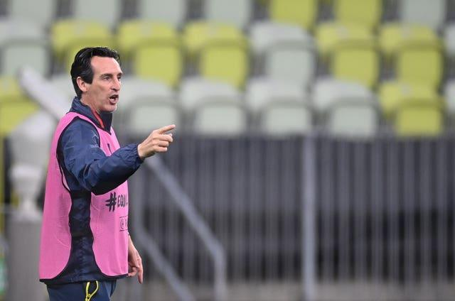 Unai Emery is used to being in the Europa League final