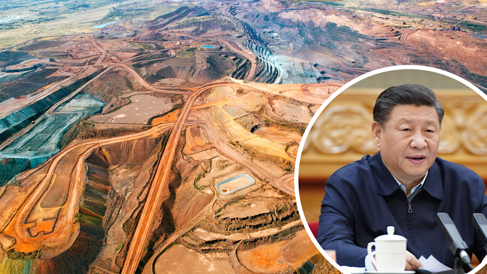 China's looking to buy iron ore from somewhere other than Australia. But how will that really play out? (Source: Getty)