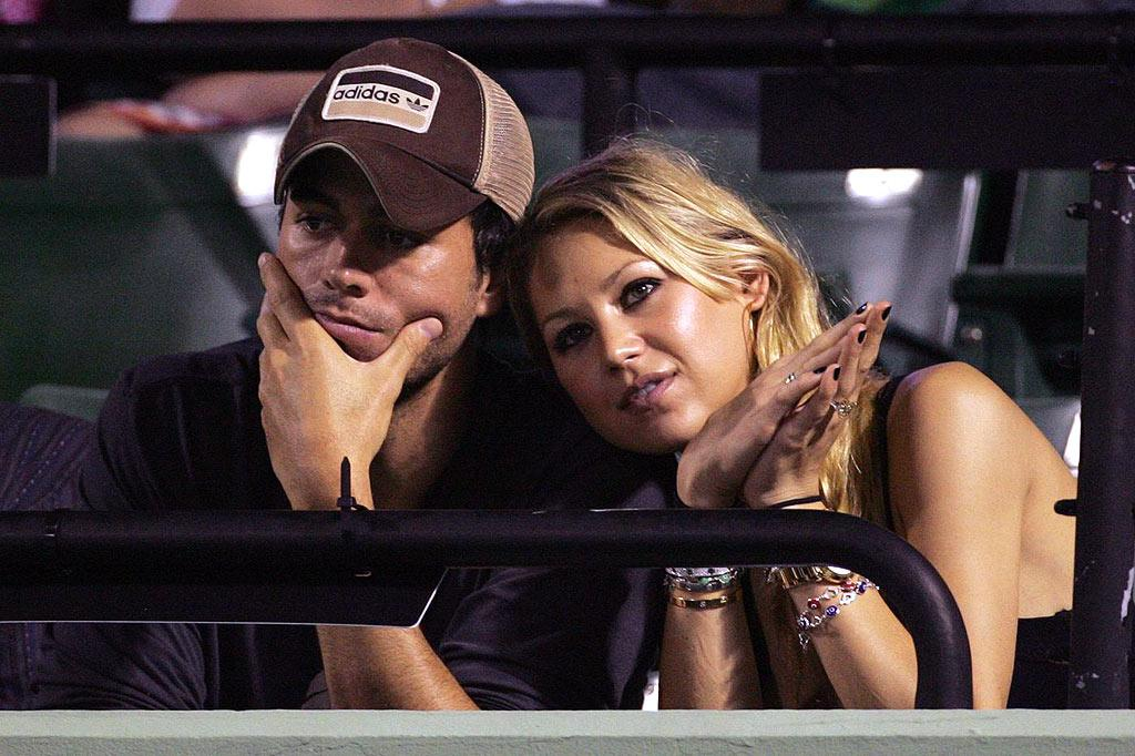 "Despite their rumored on/off romance, Enrique told reporters last week that Anna ""is the ideal girl. If you ask me right now, I'd say she's the woman in my life, but I don't know if eternal love exists."" Juan Soliz/<a href=""http://www.pacificcoastnews.com/"" target=""new"">PacificCoastNews.com</a> - April 2, 2009"