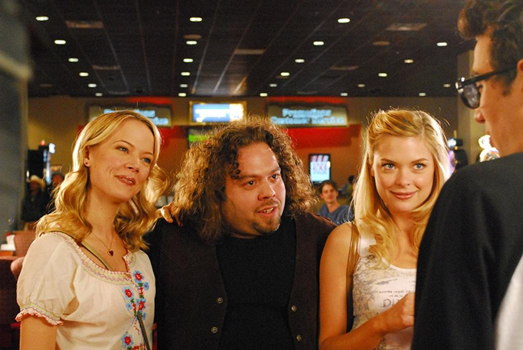 """<a href=""""http://movies.yahoo.com/movie/contributor/1809679043"""">Dan Fogler</a> and <a href=""""http://movies.yahoo.com/movie/contributor/1800157425"""">Jaime King</a> in The Weinstein Company's <a href=""""http://movies.yahoo.com/movie/1809424382/info"""">Fanboys</a> - 2008"""