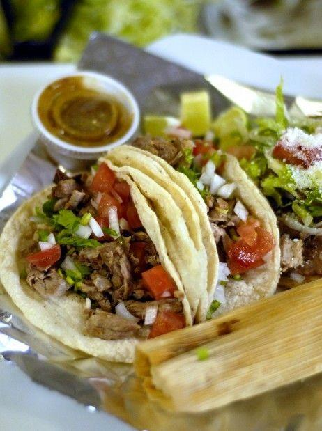 """<p>Many reviewers call this place a must when passing by the town of Cobden. If you see a line, don't turn around because it's worth the wait.</p><p><em>Check out <a href=""""https://www.facebook.com/Taqueria-Pequena-little-house-of-tacos-449946295037811/"""" rel=""""nofollow noopener"""" target=""""_blank"""" data-ylk=""""slk:Taqueria Pequena on Facebook"""" class=""""link rapid-noclick-resp"""">Taqueria Pequena on Facebook</a>.</em></p>"""