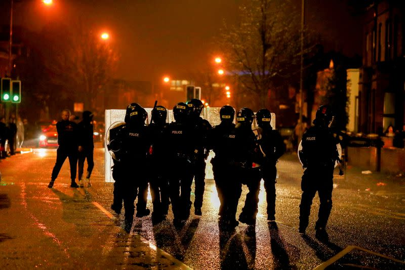 Protests in Belfast