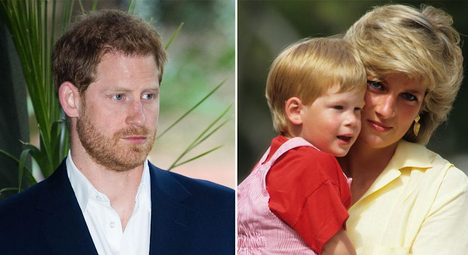 Harry's birthday in 2020 may have a more poignant feeling because he turns the same age Princess Diana was when she died. (Getty Images)