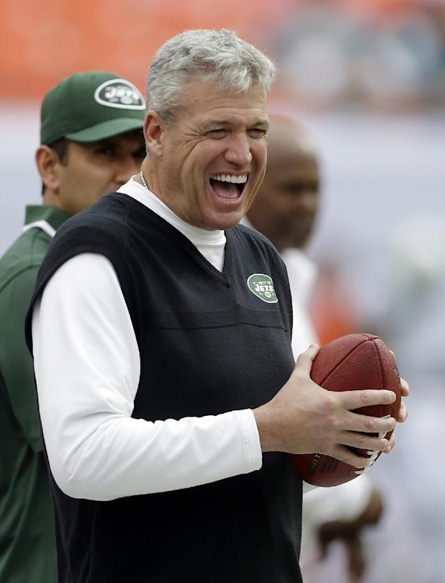 Jets sign coach Rex Ryan to contract extension