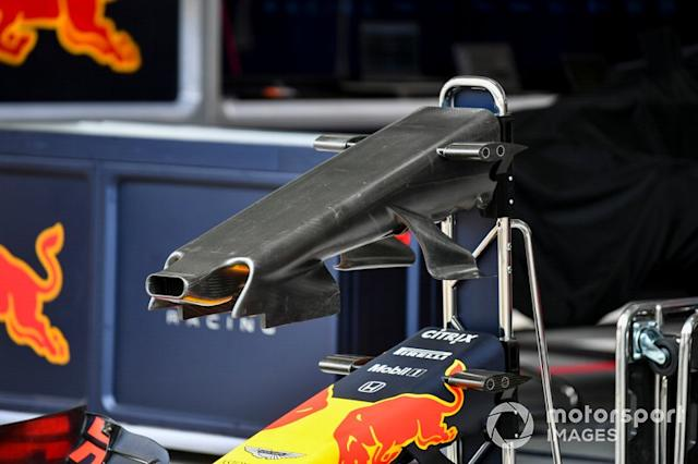 """Ala anteriore della Red Bull Racing RB15 <span class=""""copyright"""">Mark Sutton / Motorsport Images</span>"""