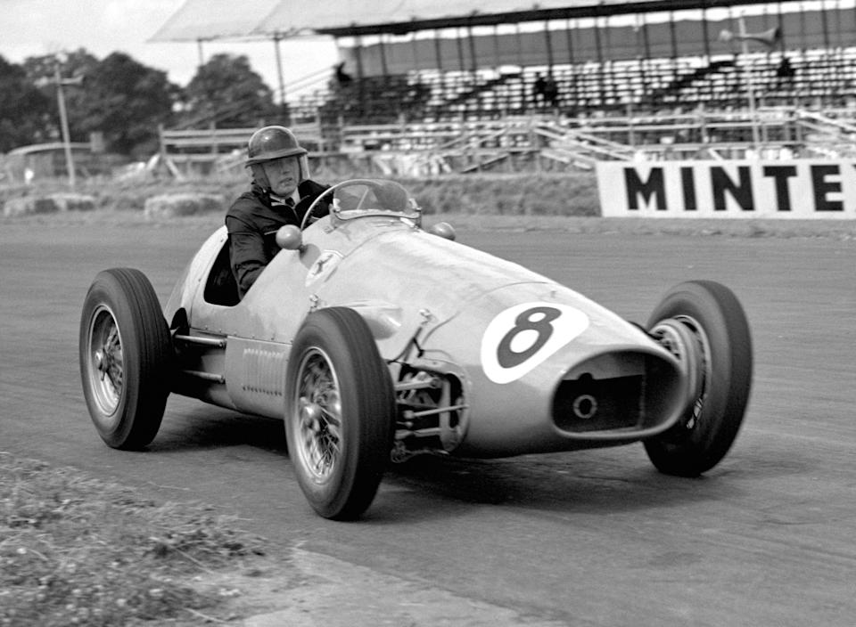 Mike Hawthorn was the first British world champion