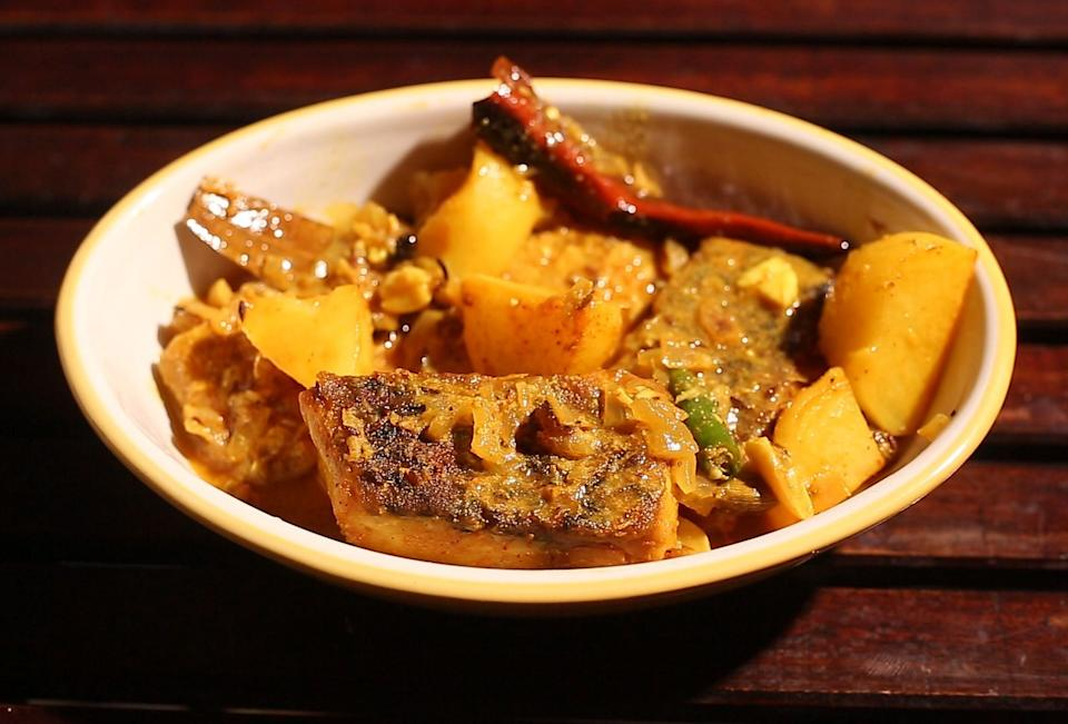 Fish Kalia is a dish only made during special occasions.