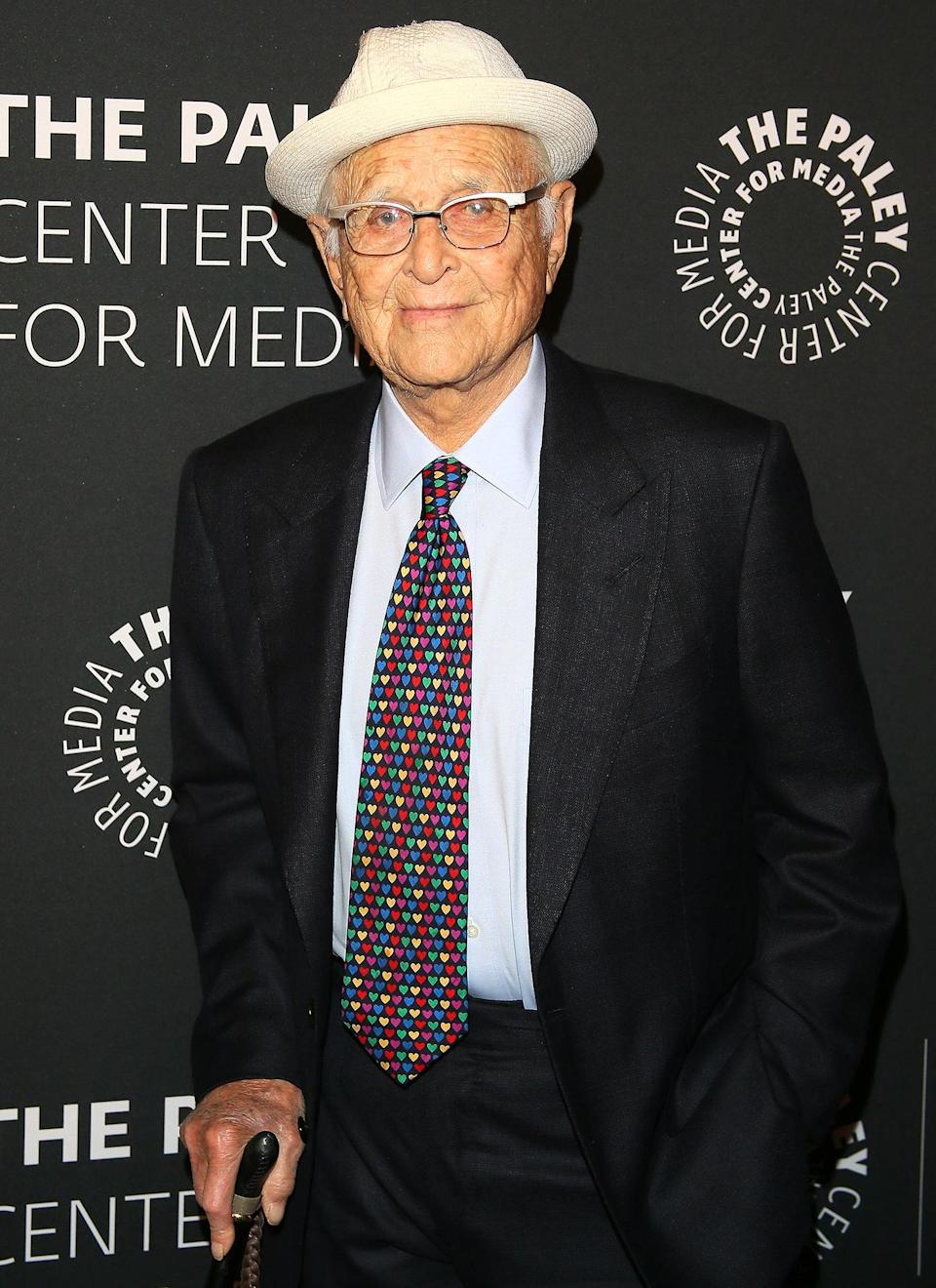 """<p>Outside of Hollywood, Lear has kept busy by founding other non-profits including the now-defunct Business Enterprise Trust — which aimed to spotlight """"exemplary social innovations in American business,"""" <a href=""""http://www.normanlear.com/backstory/"""" rel=""""nofollow noopener"""" target=""""_blank"""" data-ylk=""""slk:according to its website"""" class=""""link rapid-noclick-resp"""">according to its website</a> — and the Norman Lear Center for research and public policy at the USC Annenberg School for Communication. He and wife Lyn, along with entertainment executive Alan Horn and his wife Cindy, also created the <a href=""""https://www.green4ema.org/"""" rel=""""nofollow noopener"""" target=""""_blank"""" data-ylk=""""slk:Environmental Media Association"""" class=""""link rapid-noclick-resp"""">Environmental Media Association</a> in 1989. </p> <p>Lear famously purchased an original copy of the Declaration of Independence in 2001, touring it around all 50 states for people to see in the 10 years he and Lyn owned it.</p> <p>He continues to host a podcast, <em>All of the Above with Norman Lear</em>, and released a book about his life,<em> Even This I Get to Experience</em>, in 2014.</p>"""