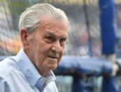 A former Walmart executive, Glass purchased the Royals in 2000 and saw the team win two pennants – including a World Series in 2015 – during his ownership. Glass, who was 84, died from complications of pneumonia. <br>