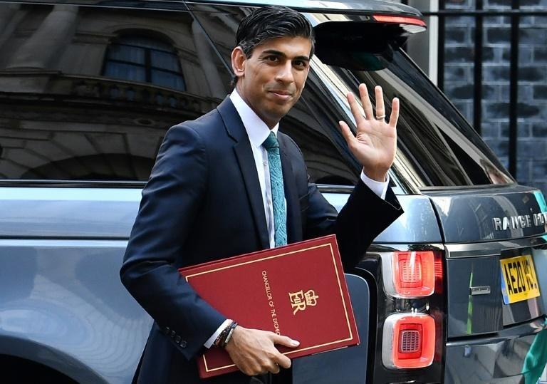 Britain's Chancellor of the Exchequer Rishi Sunak (AFP/Ben STANSALL)