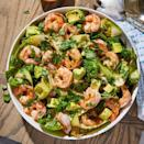 """<p>This <a href=""""https://www.delish.com/uk/cooking/recipes/a31658178/taco-lime-shrimp-recipe/"""" rel=""""nofollow noopener"""" target=""""_blank"""" data-ylk=""""slk:prawn"""" class=""""link rapid-noclick-resp"""">prawn</a> salad is one of our favourite things to throw together. It takes literally 10 minutes to put together but thanks to the zingy dressing and fresh ingredients, it feels like so much love and attention has gone into it. </p><p>Get the <a href=""""https://www.delish.com/uk/cooking/recipes/a31952820/prawn-salad/"""" rel=""""nofollow noopener"""" target=""""_blank"""" data-ylk=""""slk:Avocado, Courgette and Prawn Salad"""" class=""""link rapid-noclick-resp"""">Avocado, Courgette and Prawn Salad</a> recipe.</p>"""