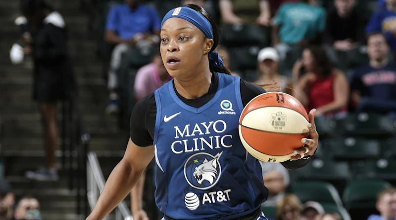 Minnesota Lynx Guard Odyssey Sims Arrested on Suspicioun of Drunken Driving