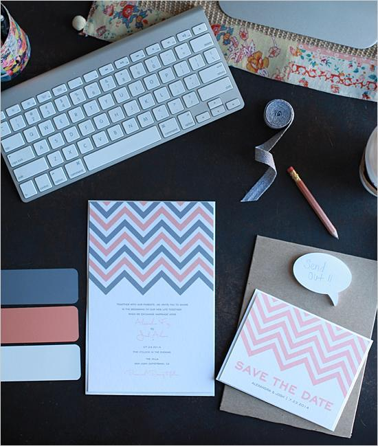 """<div class=""""caption-credit""""> Photo by: Wedding Chicks</div>The colors, the simplicity...this stationery is spot-on. <br> <br> <a href=""""http://lover.ly/search?e=0&q=save+the+dates&utm_source=shine2-7-13chevron&utm_medium=guest&utm_campaign=shine2-7-13chevron"""" rel=""""nofollow noopener"""" target=""""_blank"""" data-ylk=""""slk:Save-the-dates for every couple"""" class=""""link rapid-noclick-resp"""">Save-the-dates for every couple</a> <br> <br> Photo by: <a href=""""http://www.weddingchicks.com/2012/01/03/free-printable-chevron-wedding-invitations/"""" rel=""""nofollow noopener"""" target=""""_blank"""" data-ylk=""""slk:Wedding Chicks"""" class=""""link rapid-noclick-resp"""">Wedding Chicks</a> via <a href=""""http://lover.ly/image/100512"""" rel=""""nofollow noopener"""" target=""""_blank"""" data-ylk=""""slk:Lover.ly"""" class=""""link rapid-noclick-resp"""">Lover.ly</a> <br> <br>"""