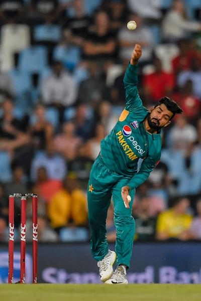 Leg-spinner Shadab Khan could be a dangerman for Pakistan at the World Cup (AFP Photo/Christiaan Kotze)