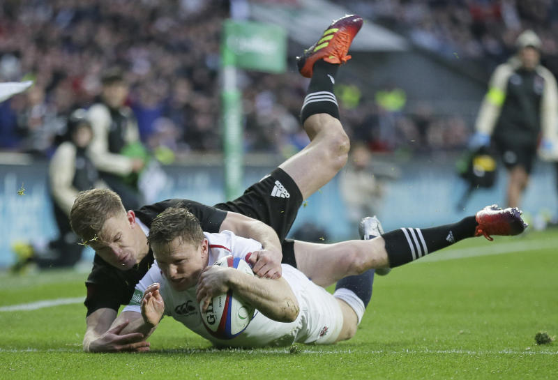 England's Chris Ashton out of Australia test with calf injury