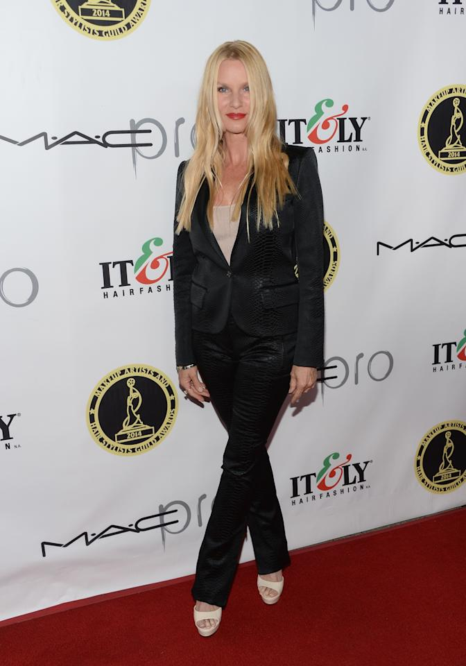 HOLLYWOOD, CA - FEBRUARY 15: Actress Nicollette Sheridan attends The Annual Make-Up Artists And Hair Stylists Guild Awards at Paramount Theater on the Paramount Studios lot on February 15, 2014 in Hollywood, California. (Photo by Jason Kempin/Getty Images)