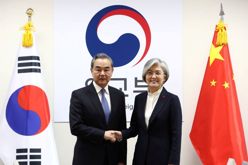 Chinese Foreign Minister Wang Yi Visits Seoul