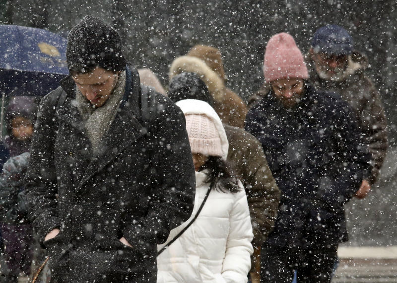 Northeast set for late-winter hit of heavy snow, strong wind