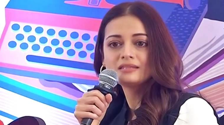 dia mirza at jaipur literature fest