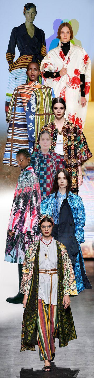 <p>While 2020 has quite literally been about isolation, the prevailing notion is that it's about time to stand out in a crowd. What better way is there to approach that than in a brightly hued statement coat? Come spring, you'll have your choice of stripes, patchwork, and checks.</p><p><em>Pictured from top to bottom: Dries van Noten, Prada, Duro Olowu, Dolce & Gabbana, Chopova Lowena, Christopher Kane, Burberry, and Christian Dior. </em></p>