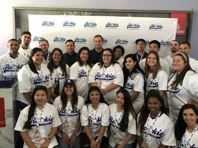 """California Credit Union and Los Angeles Unified School District celebrate """"Rookie Teacher of the Year"""" Award winners at Dodger Stadium August 11, 2019. California Credit Union, which has served the education community with premier financial services for more than eight decades, created the Rookie of the Year program in 2015 to recognize first year teachers within the greater Los Angeles community."""