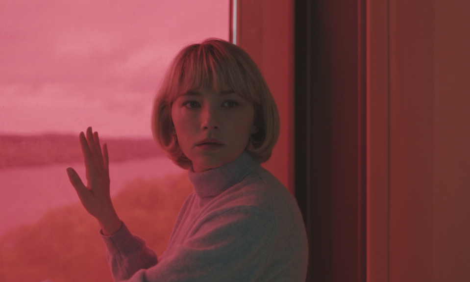 Haley Bennett in 'Swallow'. (Credit: IFC Films)