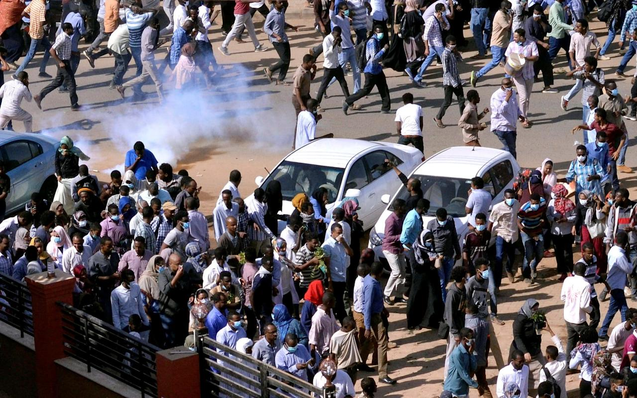 """One of Sudan's ruling partieshas demanded an inquest into the killing of anti-governmentprotesters amid mounting pressure on long-serving dictator Omar Bashir to resign. Idris Suleman, a senior member of the Islamist Popular Congress Party, saidon Wednesday that his party'sreports indicated that 17 people have been """"martyred"""" and 88 wounded in the protests that have swept the country over the past week. """"We call on the government to launch an investigation into the killings,"""" Mr Suleman said at a press conference in Khartoum.""""Those who committed these killings must be held accountable."""" Protests against rising prices and shortages of food and fuel first broke out in the city of Atabara on December 19, andrapidly spread to other cities and escalated into demands that Bashir step down. Several protests have ended in violent crackdowns by security services. The Popular Congress Party is a member of Mr Bashir's government and its previous leader played a key role in putting Mr Bashir in power in a military coup in 1989. Omar Bashir, right, with Syria's Bashar Assad in Damascus on December 16. Credit: SANA via AP Mr Suleman's intervention came a day after a senior Sudanese military commander appeared to endorse the protests. Mohammed Hamdan Dagolo, who commands a para-military unit called the Rapid Support Forces, was filmed on Tuesday telling several thousand troops that they should show """"solidarity"""" with the Sudanese people and that the government is to blame for the inflation that sparked nation-wide protests last week. Gen Dagolo is a former commander of the Janjaweed militia who took part in the genocide in Darfur. Mr Bashir, who has ruled Sudanfor 29 years, on Tuesday said he would defy calls to resign and suggested demonstrators who took to the streets over spiraling food prices are directed by foreign powers. """"You are the ones responding to them right now. From here, you are responding to all the traitors and foreign agents. I support you. And with your support, """