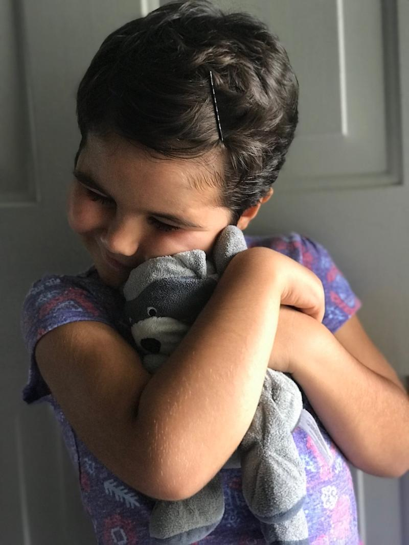 lost raccoon toy found