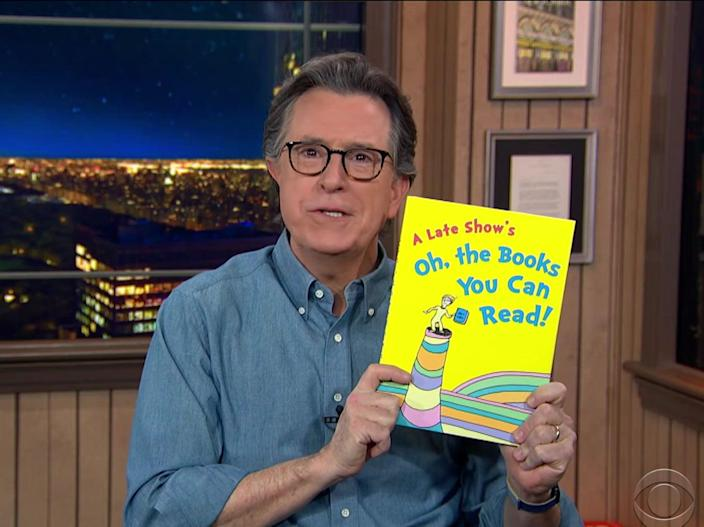 Stephen Colbert on The Late Show (CBS)