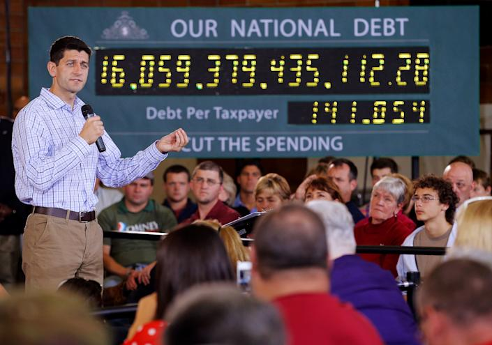 Paul Ryan on the campaign trail in 2012 as the Republican vice presidential candidate. (Photo: Brian Snyder / Reuters)