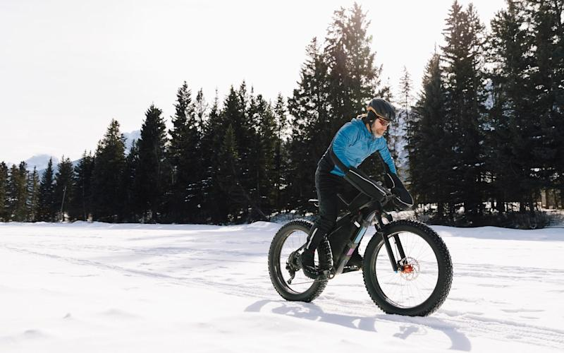 Fat bikes are built to withstand wintry conditions