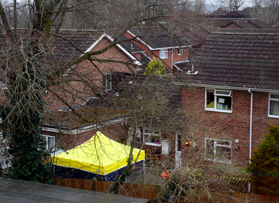 <em>Detectives will now focus their inquiries in and around the address (Rex)</em>