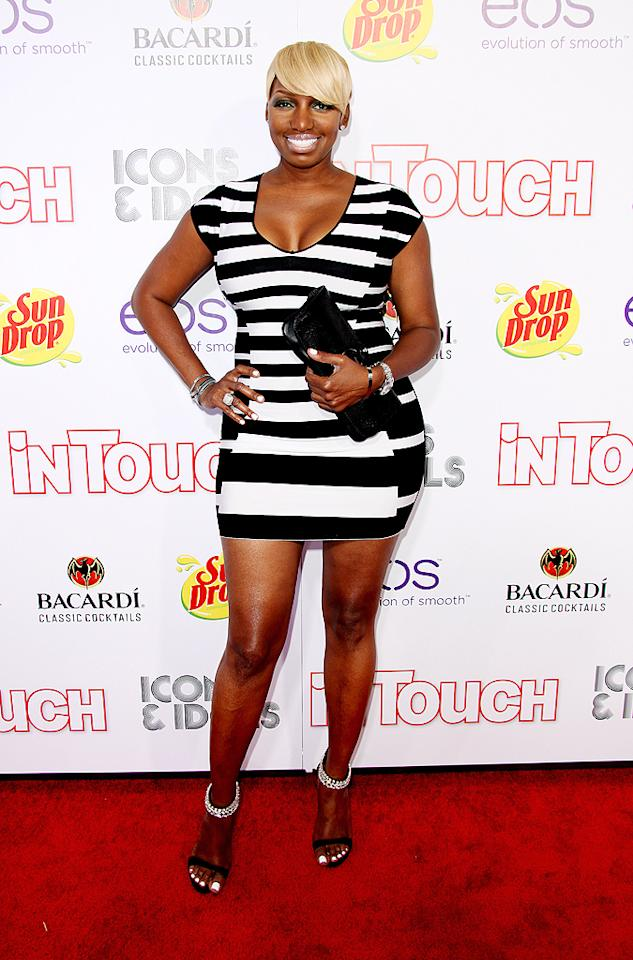 """""""The Real Housewives of Atlanta"""" star-turned-legit actress NeNe Leakes strutted her stuff in a black-and-white mini dress at <em>In Touch Weekly</em>'s 5th annual Icons & Idols party, which was thrown at the famed Chateau Marmont in West Hollywood. NeNe's new show, NBC's """"The New Normal,"""" premieres on September 10. (9/6/2012)"""