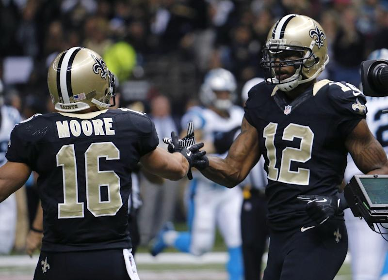 Saints offense thriving on unpredictability