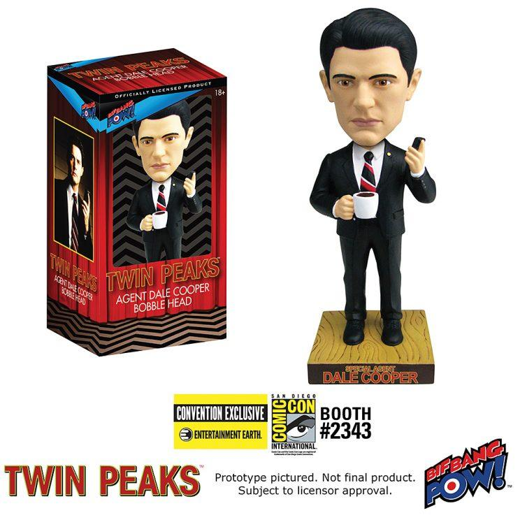 Twin Peaks'Agent Dale Cooper bobble head. (Courtesy: Entertainment Earth)