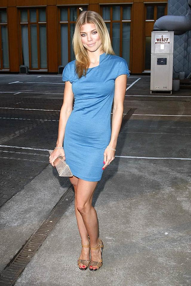 """Also in attendance at the """"World Of Calvin Klein"""" affair was """"90210"""" minx AnnaLynne McCord, who looked better than ever in a form-fitting jersey dress and newly highlighted locks. Florian Seefried/<a href=""""http://www.gettyimages.com/"""" target=""""new"""">GettyImages.com</a> - July 7, 2010"""